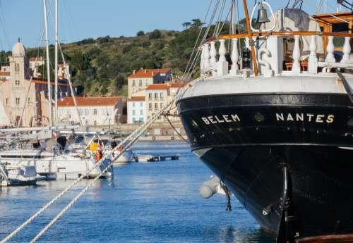 Port-Vendres Port Boat Sea