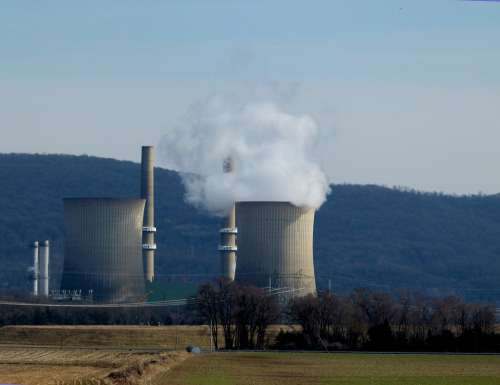 Power Plant Electricity Generation Energy