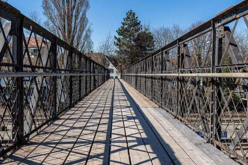Railway Bridge Old Bridge Historically Architecture