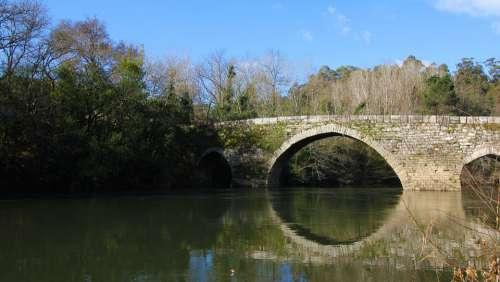 River Miño Salvaterra Galicia Vinho Wine Sky