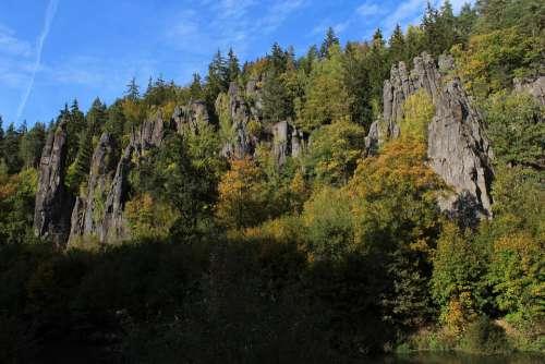 Rocks Nature Landscape Forest