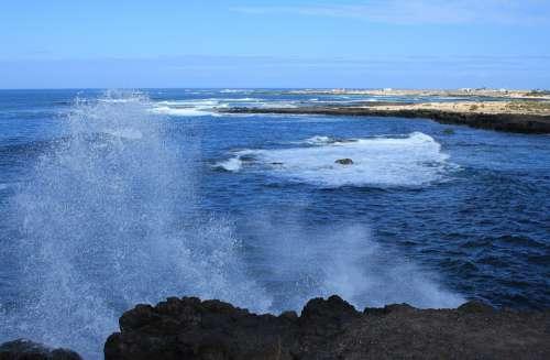 Rocks Sea Water Ocean Coast Sky Landscape