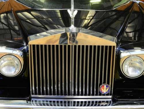 Rolls Royce Emily Cool Figure Silver Oldtimer