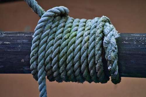 Rope Dew Knitting Ship Traffic Jams Woven Cordage
