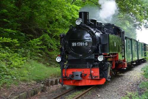 Rügen Rasender Roland Steam Locomotive Steam Railway