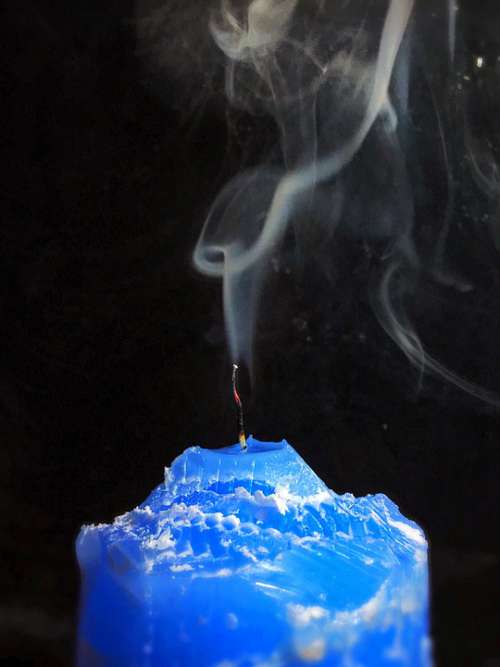 Sailing Smoke Fog Dark Evening Mystery Mysterious