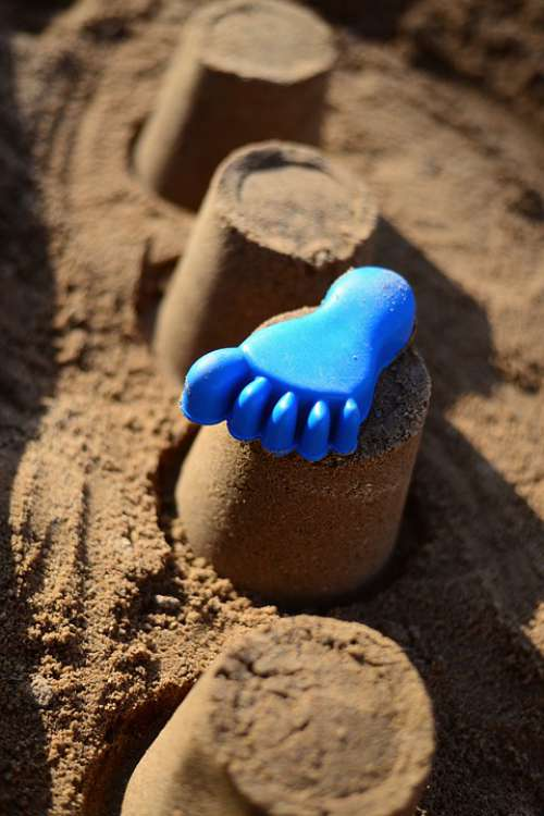 Sand Sand Pit Playground Play Toys Leisure
