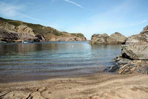 Sardinia Argentiera Sassari Beach Northwest Mine