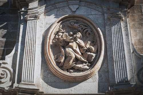 Scene Church Facade Architecture Ornament Urban