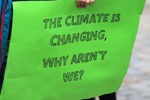 School Strike 4 Climate Demonstrations Zagreb