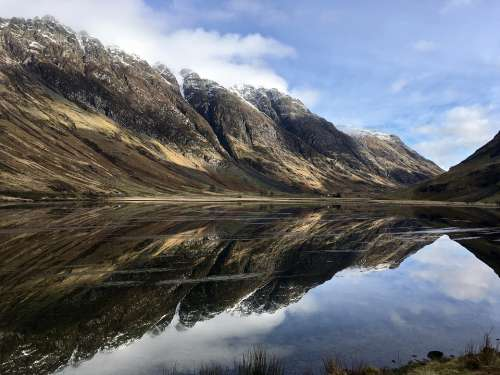 Scotland Hiking Outdoors Nature Adventure Walking
