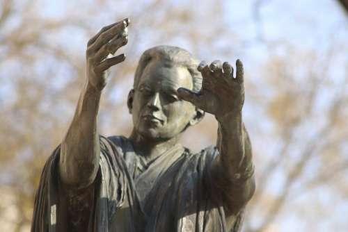 Sculpture Statue Bronze Figure Face Artwork