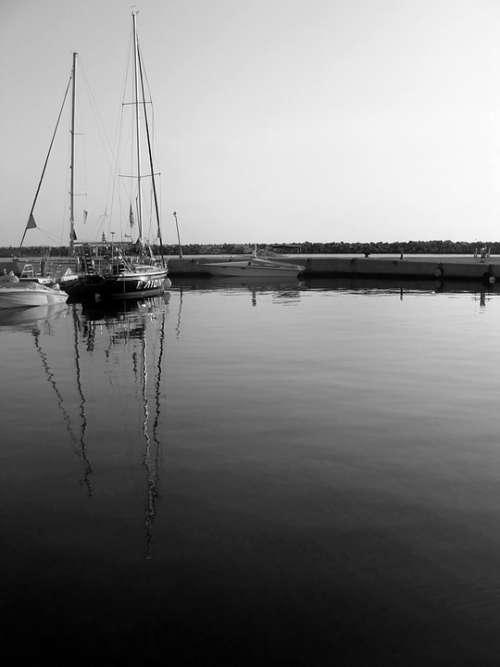 Sea Boat Port Ship