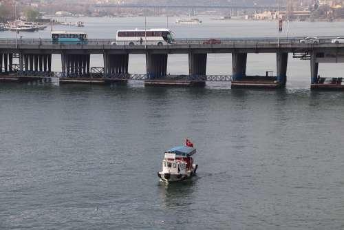 Ship Boat Transportation Travel Marine Istanbul