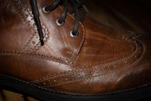 Shoe Leather Shoe Brown Men'S Shoe Leather