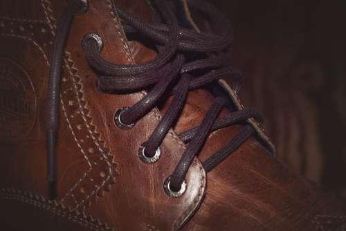 Shoe Leather Shoe Men'S Shoe Leather Brown