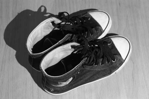 Shoes Used Worn Cloth Shoes Converse Teen