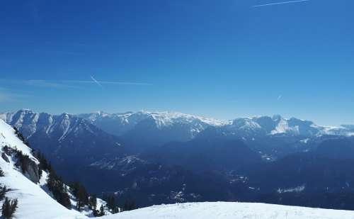 Skiing Mountain Snow Winter Sun Nature Austria