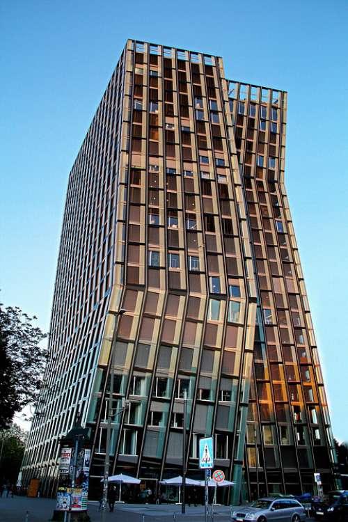 Skyscraper Hamburg Architecture Building Facade