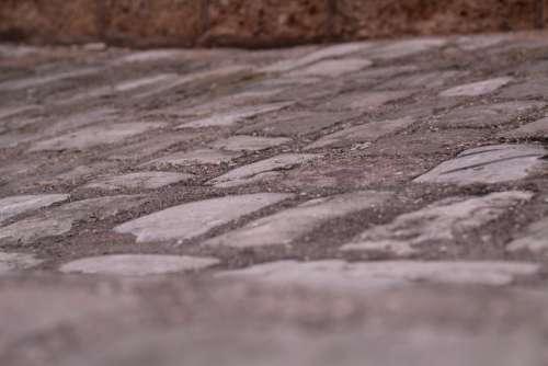 Soil Pierre Texture Stones Surface Roadway
