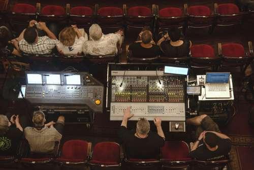 Sound Concert Preparation Hall Remote Control