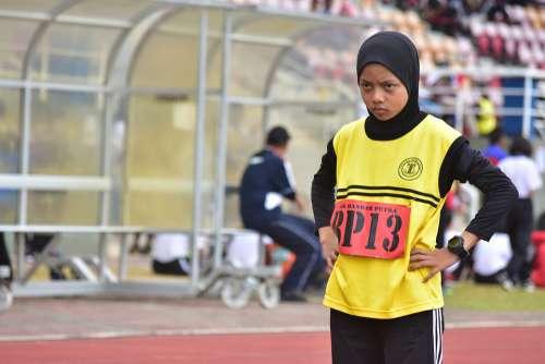 Sports Event Athlete Runner School Stadium