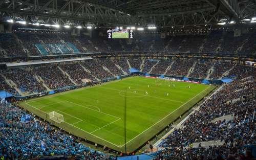Stadium Zenith St St Petersburg Russia Spb Arena