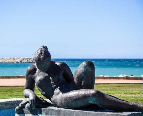 Statue Figure Sculpture Artwork Art Feminine