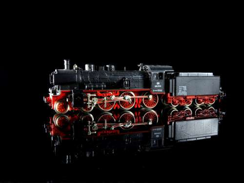 Steam Locomotive P8 Model Train Model Railway Toys