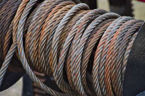 Steel Cable Winch Rope Ship Cable