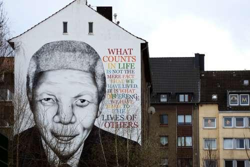 Street Art Dortmund Mandela Nelson Urbanart Art