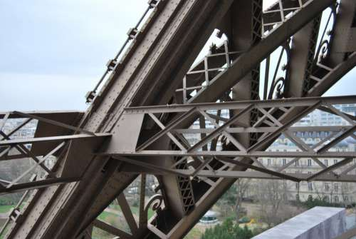 Structure Eiffel Tower Metal