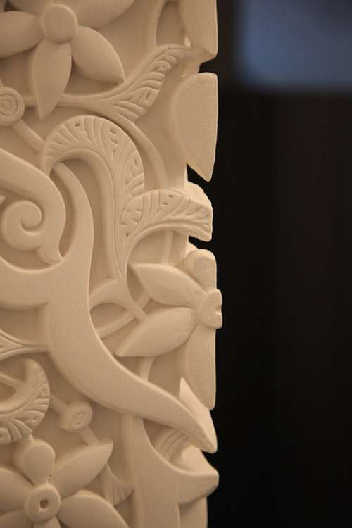 Stucco Relief Ornament Arabesque