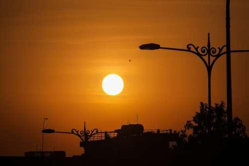Sunset Sky Dawn Vietnam