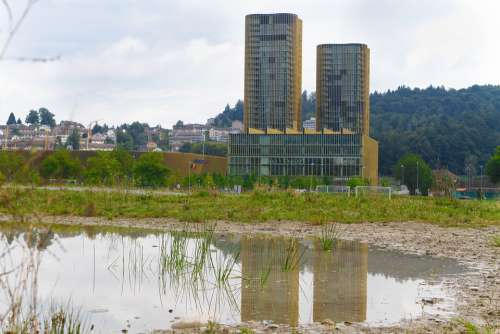 Switzerland Lucerne Landscape Allmend