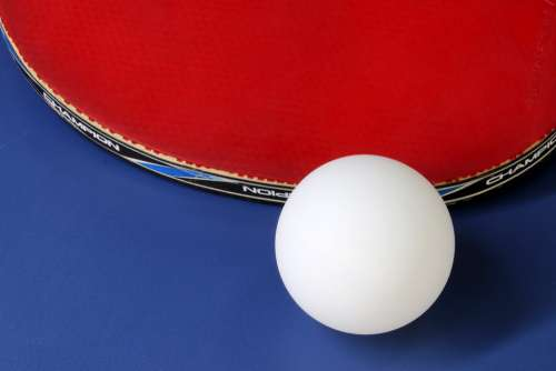 Table Tennis Ping-Pong Ball Games Sport Hobby