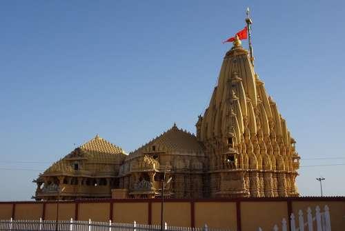 Temple Somnath Architecture Chalukyan Jyotirlinga