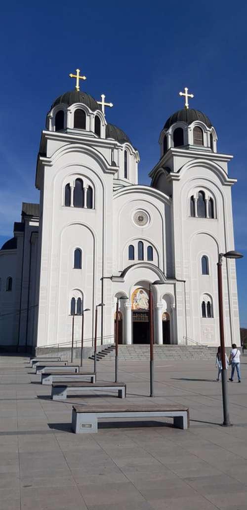 Temple Church Religious Architecture Valjevo