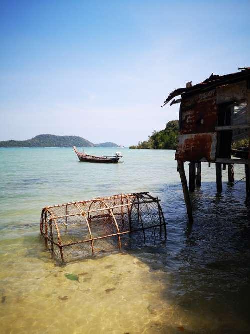 Thailand Fishing Sea
