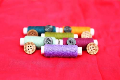 Thread Embroidery Sewing Garment Fabric