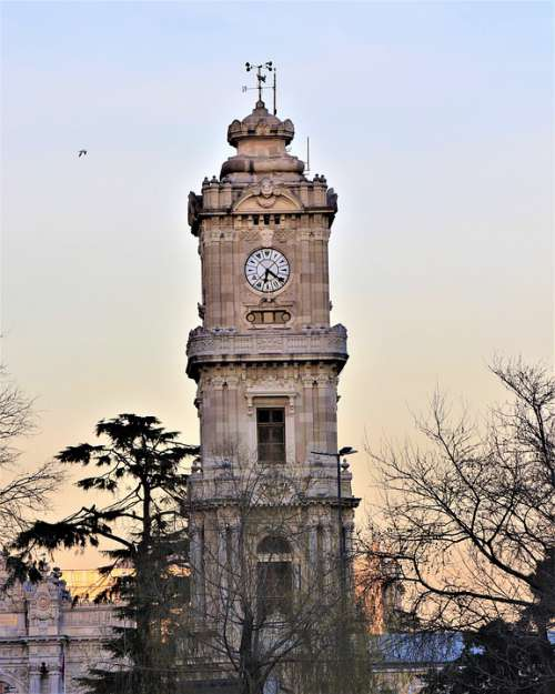 Time Tower Old On Date Architecture Architect