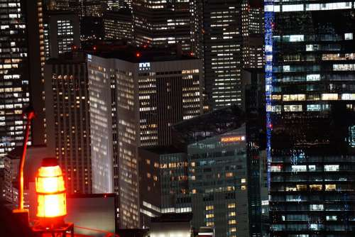 Tokyo Japan City Architecture Skyscraper Building