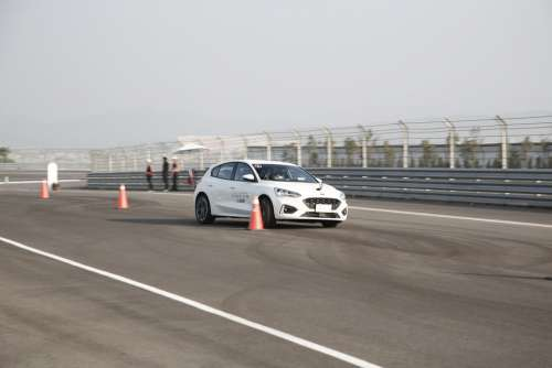 Track Race Ford Focus Racing Car Drag Speed Fast