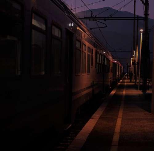 Train Station Alb Trip Railroad