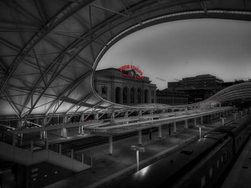 Union Station Train Travel Landmark Historic