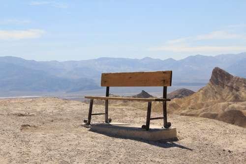 Usa Bank Desert Tourist Attraction Zabriski Point