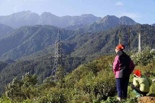 Vietnam Sapa Highlands Mountains Mountain Peoples