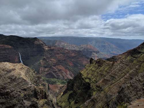 Waimea Canyon Canyon Travel Kauai Hawaii
