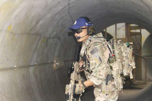 Warrior Male Man Empower Mp7 Multicam Airsoft