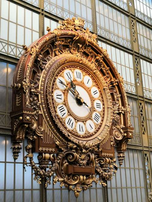 Watch Station Train Ancient Orsay